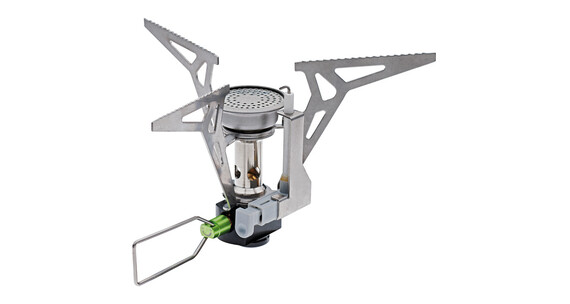 Edelrid Kiro ST gaskoker piezo-ontsteking grijs